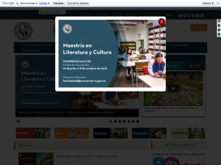 Captura de pantalla para caroycuervo.gov.co
