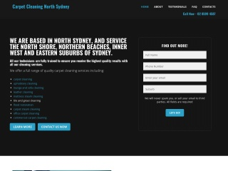 Screenshot for carpetcleaningnorthsydney.com