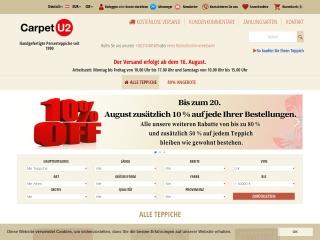 Screenshot der Website carpetu2.at