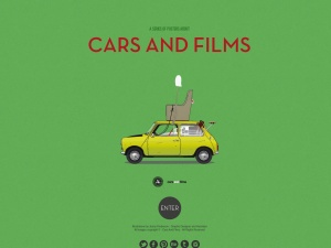 Cars And Films / A series of posters about cars and filmsのスクリーンショット
