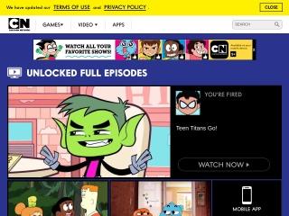 Screenshot for cartoonnetwork.com