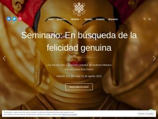 Captura de pantalla para casatibet.org.mx