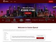 Casino Epoca No deposit Coupon Bonus Code