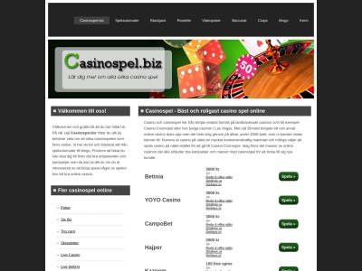 www.casinospel.biz