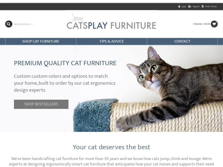 CatsPlay Cat Furniture screenshot