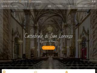screenshot cattedrale.perugia.it