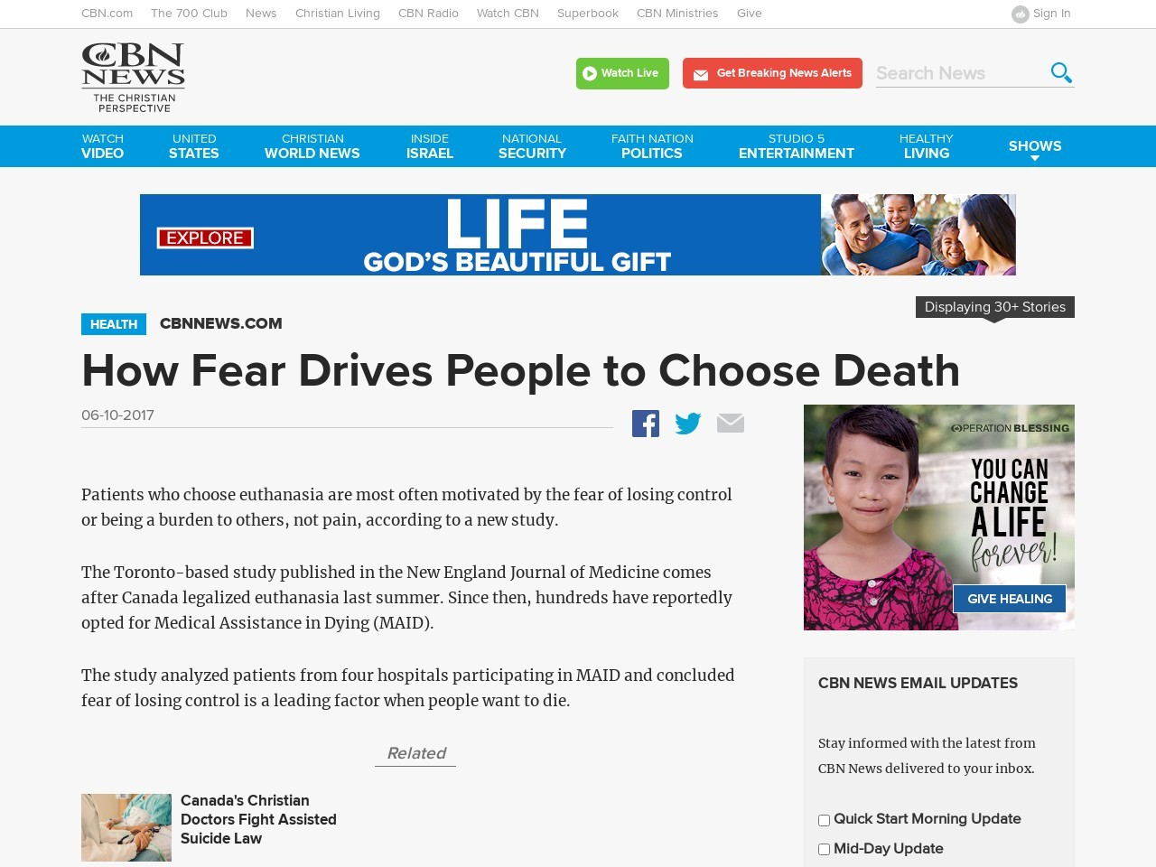 How Fear Drives People to Choose Death
