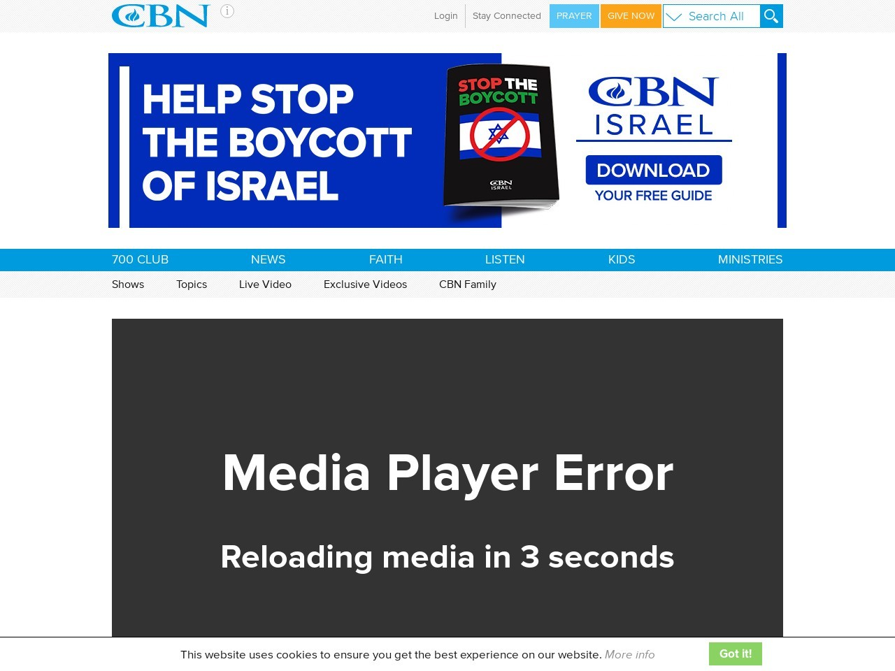 700 Club Interactive – August 28, 2017