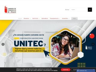 Captura de pantalla para ccipiales.org.co