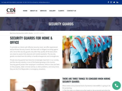 SECURITY LADY GUARD SERVICES | Delhi & Noida |