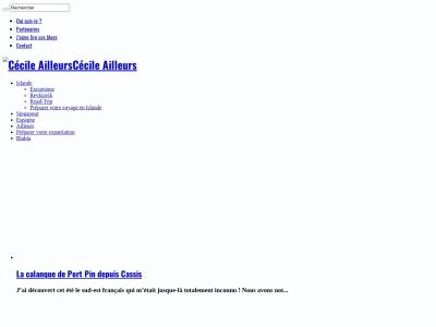 Blog voyage de Cécile en Islande