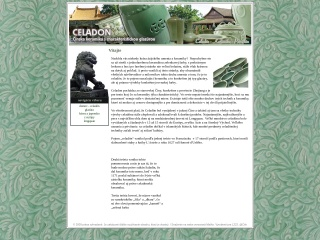 Screenshot stránky celadon.sk