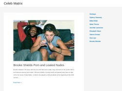 Celeb Matrix - Collection of nude celebrity sex movies and