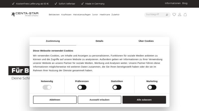 www.centa-star.de Vorschau, Centa-Star GmbH