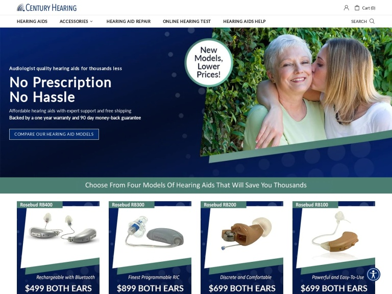 Century Hearing Aids screenshot