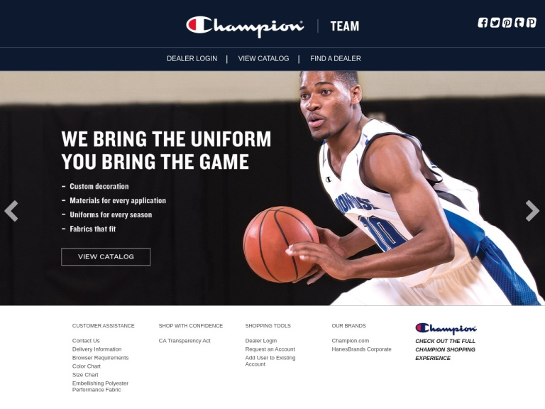 ChampionUSA.com screenshot