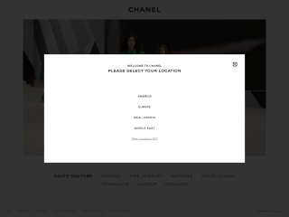 Screenshot for chanel.com