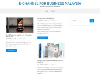 Screenshot bagi channel-e.com.my