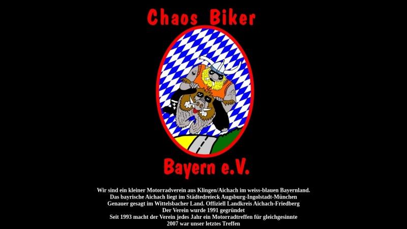 www.chaosbiker.de Vorschau, Chaos Biker Bayern e.V.