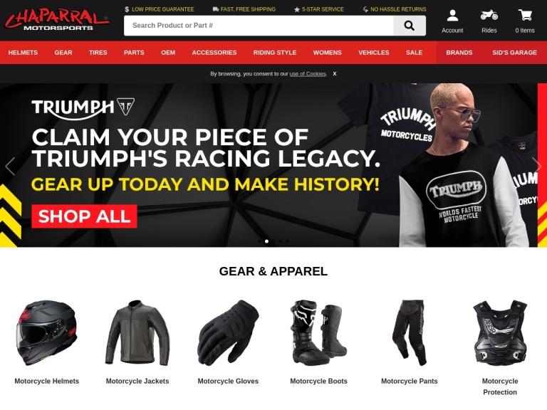 Chaparral Motorsports screenshot