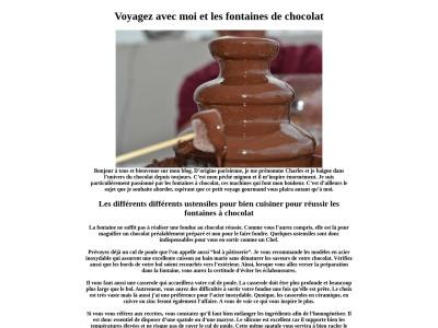 Charles chocolatier