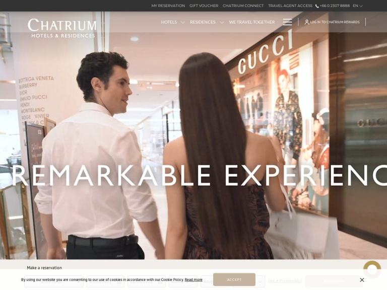 Chatrium Hotels and Residences screenshot