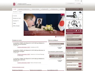 Capture d'écran pour chd.lu