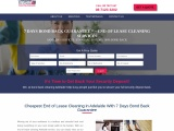 Cheapest End of lease Cleaning Adelaide