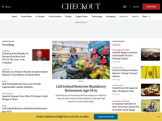 Screenshot for checkout.ie
