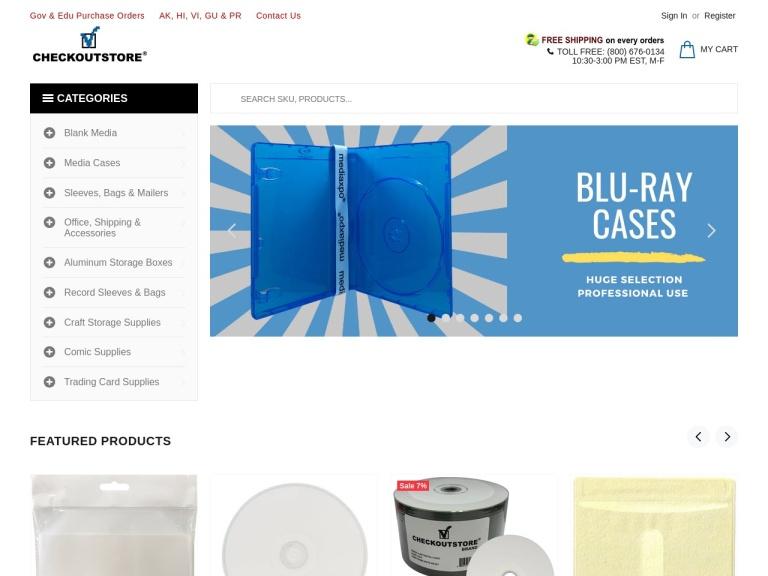 CheckOutStore, Inc. screenshot