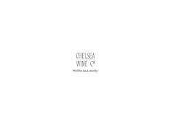 Chelsea Wine Vault coupon codes September 2018