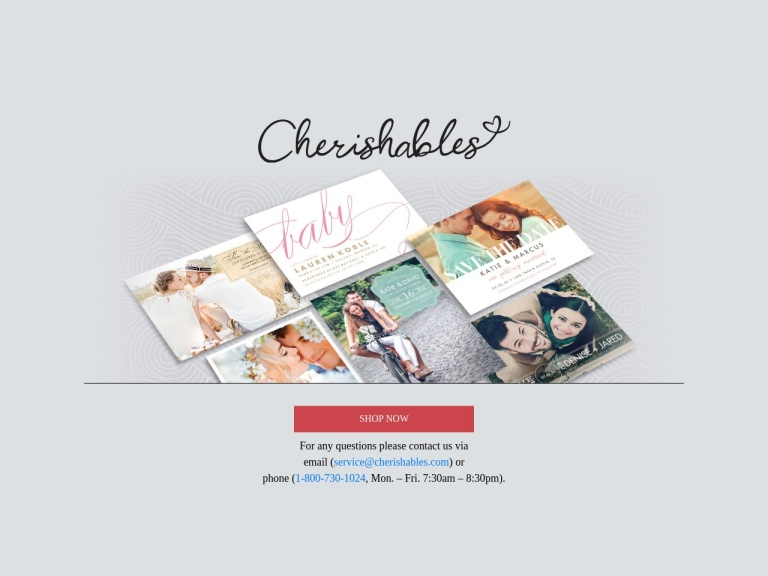 Cherishables.com by Saturn Greetings Coupon Codes