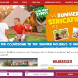 Up to 50% off at Chessington Holidays