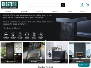 Screenshot for chesters.co.nz