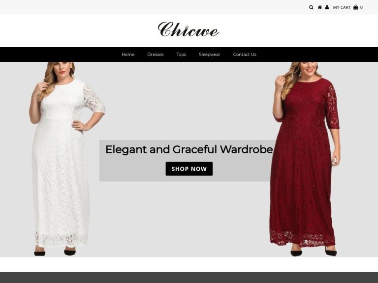 Chicwe LLC screenshot