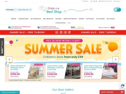 Childrensbedshop.co.uk coupon codes February 2019