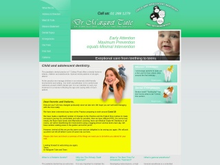 Screenshot for childrensdentistry.ie