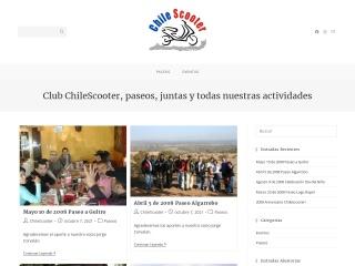 Captura de pantalla para chilescooter.cl