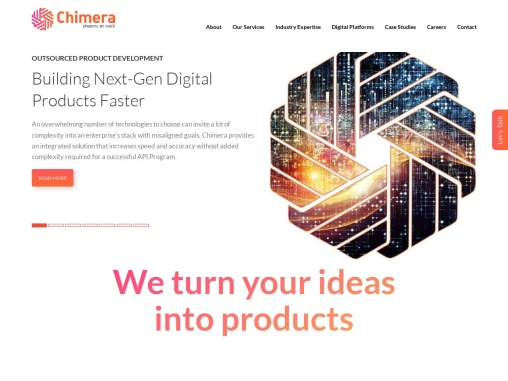Software Development Outsourcing Company in India – Chimera Technologies