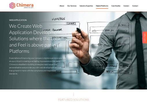 Web Application Development Company in Bangalore – Chimera Technologies