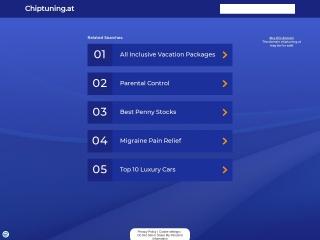 Screenshot der Website chiptuning.at