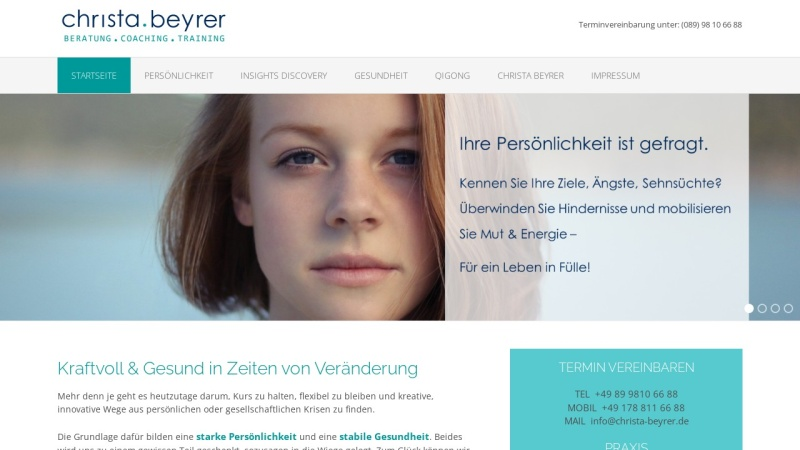 www.christa-beyrer.de Vorschau, Christa Beyrer