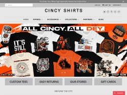 Cincyshirts coupon codes November 2018