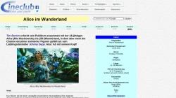 www.cineclub.de Vorschau, Cineclub - Filmkritik: Alice im Wunderland