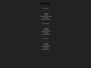 Screenshot voor cinenews.be