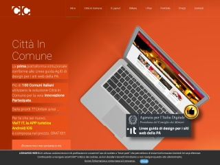 screenshot cittaincomune.it