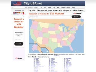 Screenshot for city-usa.net