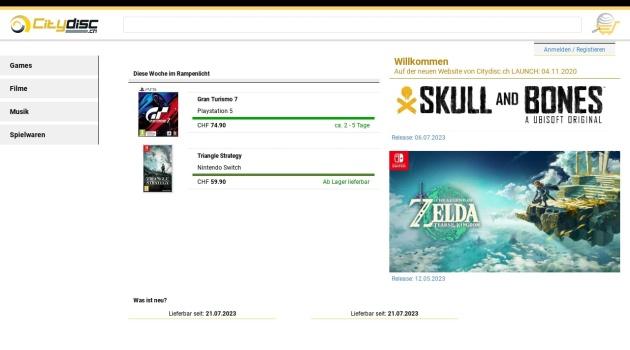 Code promo Citydisc 10% de reduction DVD/CD/Jeux/Logiciels