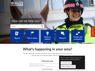 Screenshot for cityoflondon.police.uk