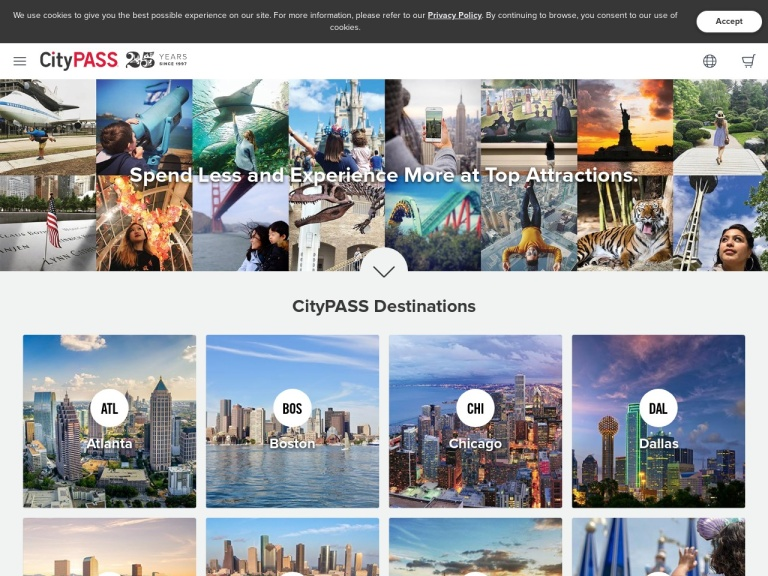 CityPass screenshot